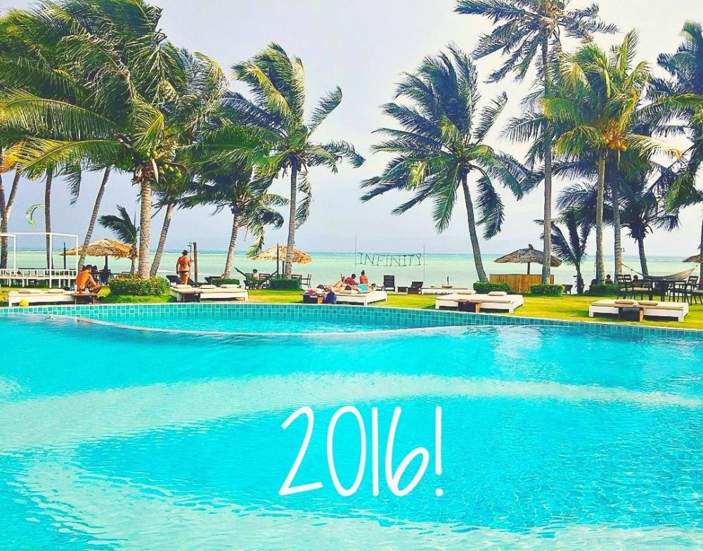 2016 – A Year of Travel!