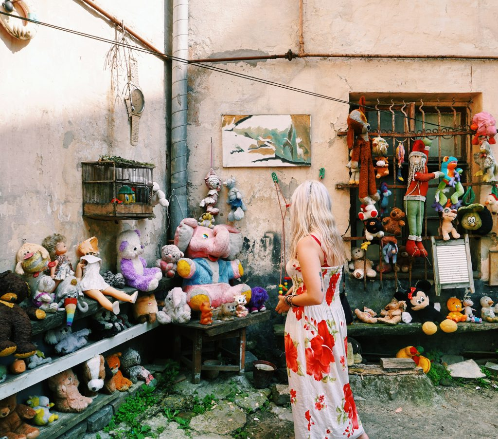 yard of lost toys things to do in Lviv