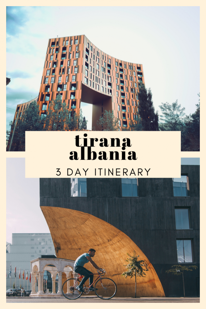3 Days in Albania - Tirana Itinerary. I believe that Albania is one of the most underrated destinations in Europe, and if you only have 3 days in Albania then a visit to its capital of Tirana is a must. #balkans #albania # Tirana