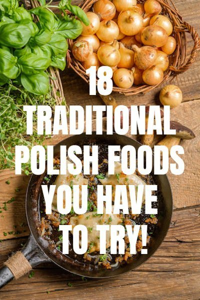 Traditional Polish Food - 18 Polish Dishes You Simply Have to Try - Meat, bread and potatoes make up the bulk of Polish dishes, with a side of sauerkraut or pickled cucumber. Traditional Polish food is the kind of hearty comfort food that keeps you warm in the winter months. That said, with generous helpings of butter, cream and various spices, the rich flavours that you will encounter on a Polish plate are like no other #polishfood #traditionalpolishfood