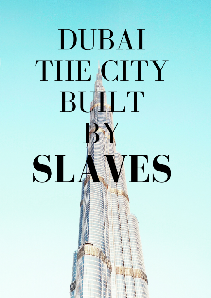 Construction Workers in Dubai - Modern Slavery in the UAE. Discover how slvery flourishes in this playground for adults. #dubai #uae #unitedarabemirates