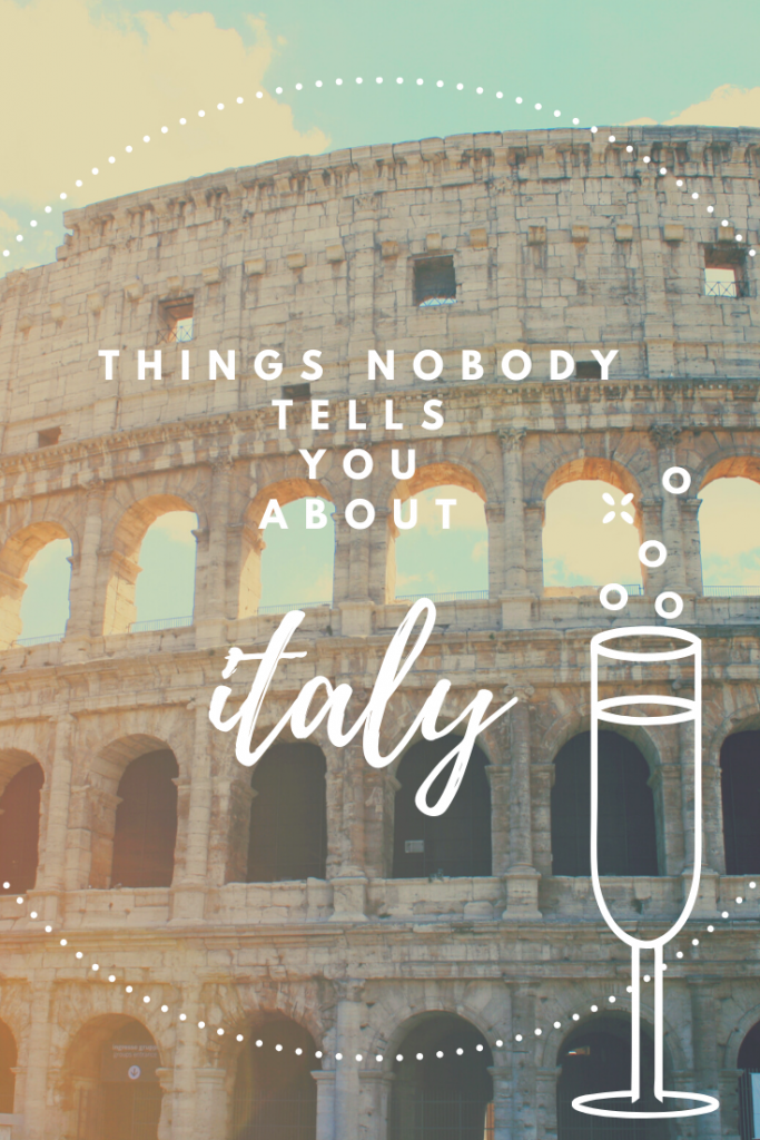 31 Things to Know Before Going to Italy - When I arrived in Italy 5 months ago, I wasn't expecting much of a culture shock. Italy doesn't seem overly 'foreign' to most people. However, there are a lot of unspoken rules here in bella Italia, and if you're planning to visit Italy for the first time then I suggest you read this list to avoid embarrassing mistakes in the future! #visititaly #italytravel #italy #sicily