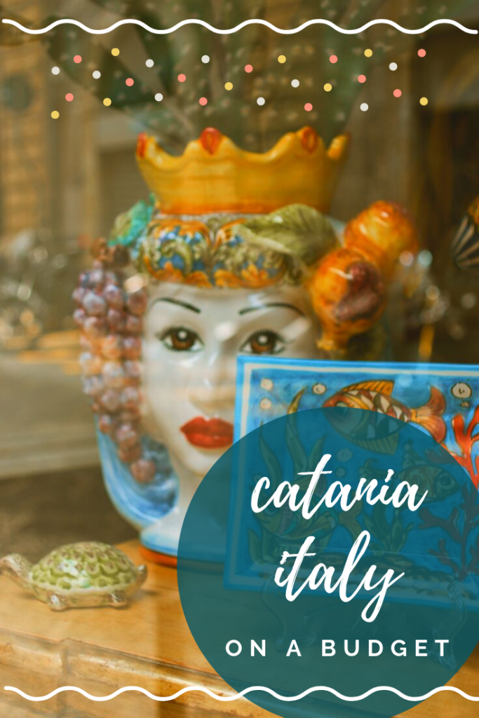 How to Visit Catania Sicily on a Budget - Catania doesn't get nearly as much tourism as the more well-known cities in Italy but with its close proximity to the sea, stunning Baroque architecture and delicious Sicilian cuisine, Catania may be one of the best places to visit in Sicily! However, while much more affordable than cities such as Rome, Catania is still a little pricey & so I decided to put together a handy guide to visiting Catania on a budget! #italy #sicily #catania #italyitinerary
