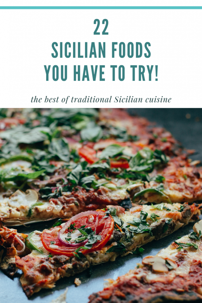 22 Sicilian Foods You Have to Try! The very best of traditional Sicilian cuisine. #italianfood #italiancuisine #sicily #siciliancuisine #sicilianfood #sicilianfoods