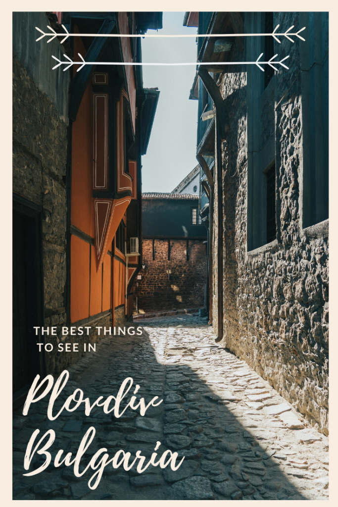 In this blog post I am going to share all of the best things to do and see in Plovdiv, Bulgaria, the European Capital of Culture 2019! #plovdiv #bulgaria