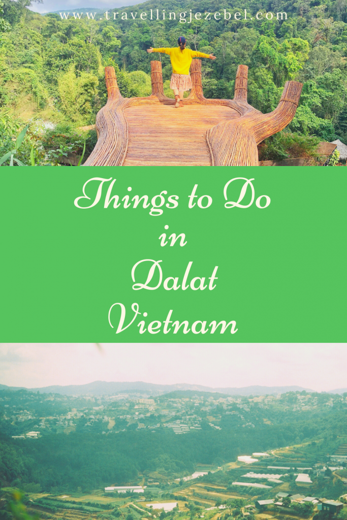 The Best Things to Do in Dalat, Vietnam - this post will show you all of the best things to do in Dalat, from silk factories to flower farms, waterfalls to cricket farms and elegant French architecture! #dalat #vietnam #southeastasia #dalatvietnam