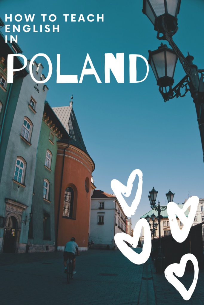 Teaching English in Poland with JustSpeak - this article will tell you all you need to know about teaching English in Poland on a voluntary basis. I did over 10 programmes with JustSpeak and in this post I will divulge absolutely everything I know! #tefl #teachabroad #workaway #poland