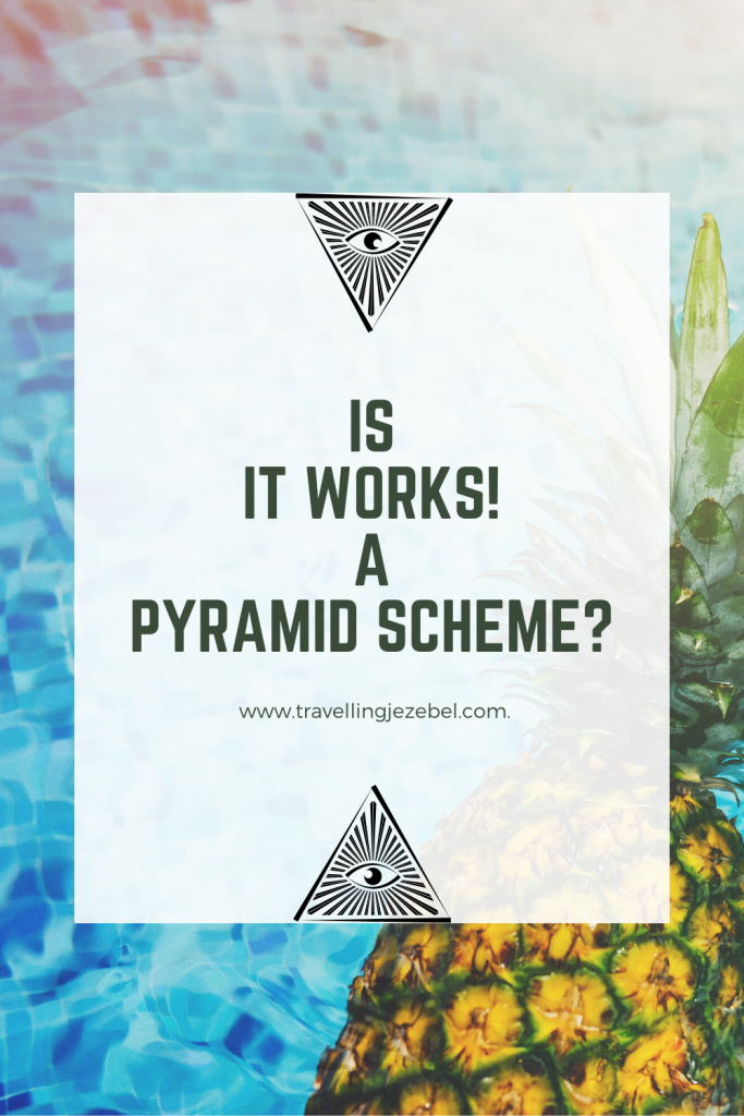 Is It Works! a Pyramid Scheme? - I did a deep dive into It Works! Global to find out whether It Works! is a legitimate business opportunity or a pyramid scheme. #antimlm #itworks #pyramidscheme