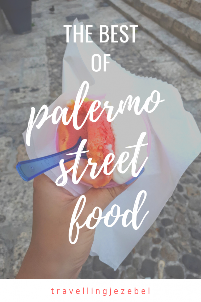 Discovering the Best of Palermo Street Food with Streaty - in this article I explore all of the best street foods from Palermo, Sicily. These include arancine, panelle, crocche, pani ca' meusa, frittula, sfincione, sangue, Sicilian cheese & gelato! #palermo #sicily #streetfood #palermostreetfood