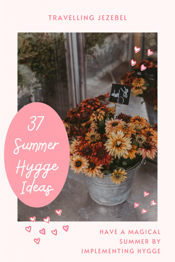 37 Summer Hygge Ideas to Make Life Magical - Hygge isn't only for the winter. Implement some of these practices into your days for an extra special hygge summer to remember! #hygge #summerhygge