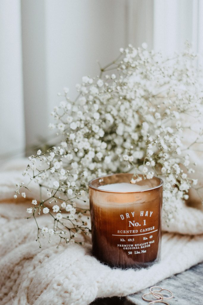 dry hay candle