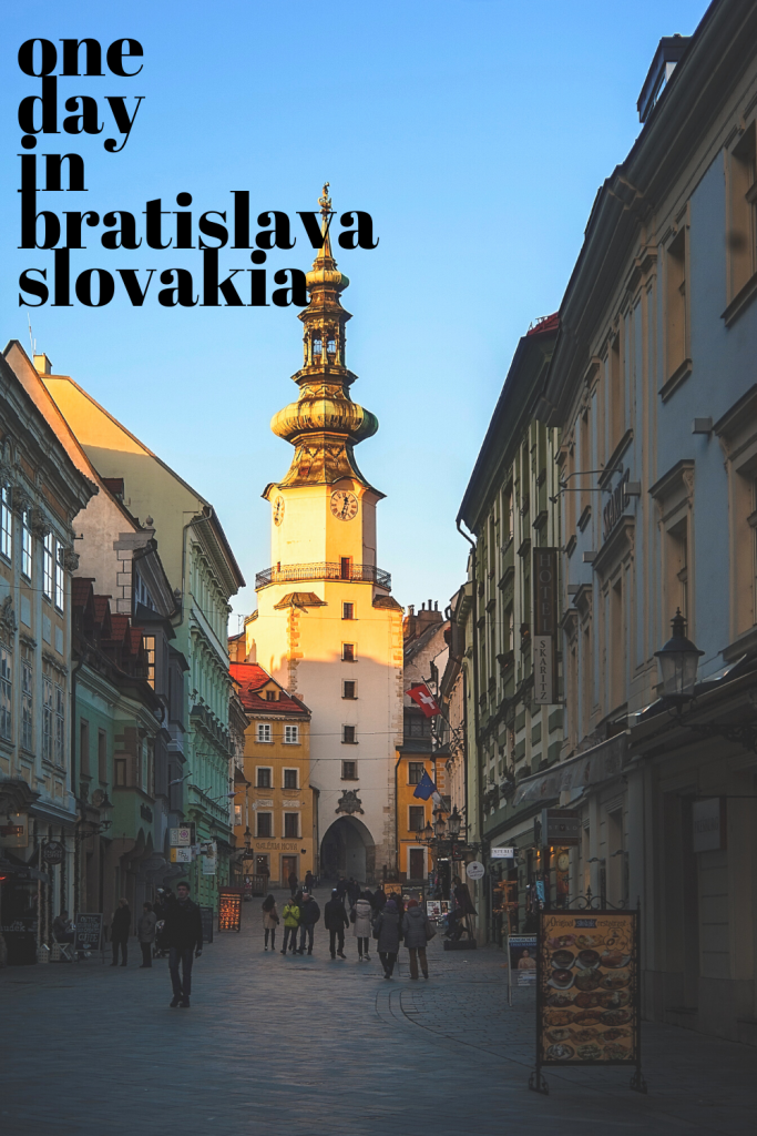Spending One Day in Bratislava? Here's All You Need to Know - You could easily spend a few days in Bratislava but if you only have enough time for one day in Bratislava, this is the perfect itinerary to make your most in the capital of Slovakia! #bratislava #slovakia