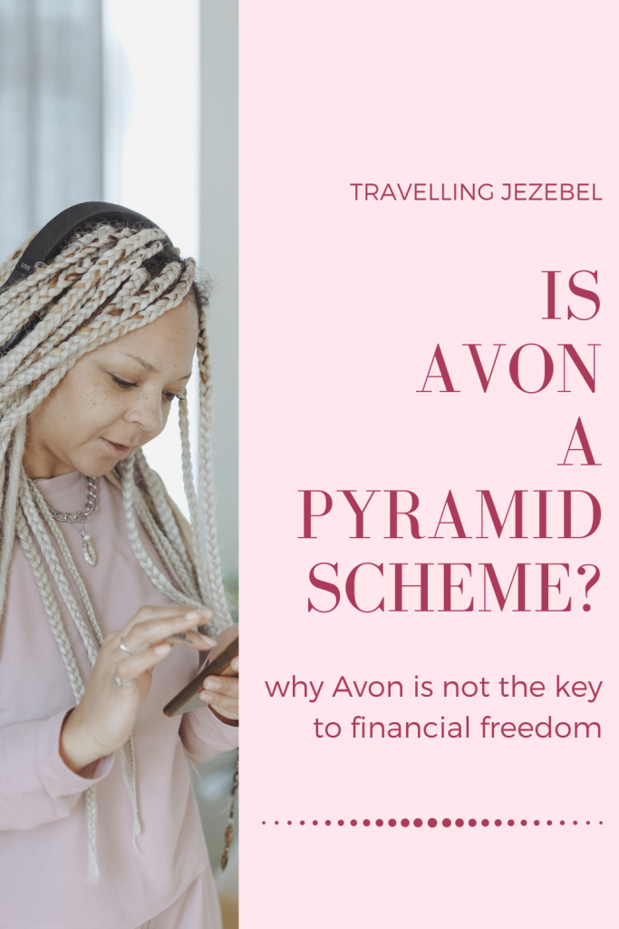 Is Avon a Pyramid Scheme? A Deep Dive Into Avon. I decided to take a closer look into Avon in order to see just how Avon functions as a company and whether they are operating as a pyramid scheme in disguise. #avon #antimlm