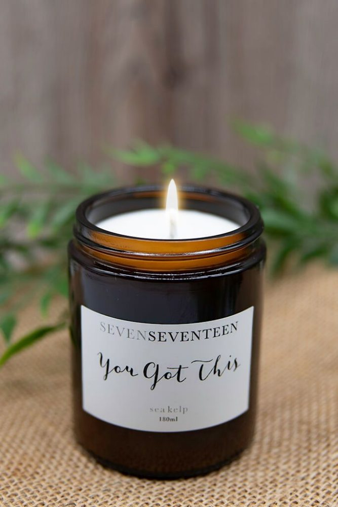 vegan scented candle