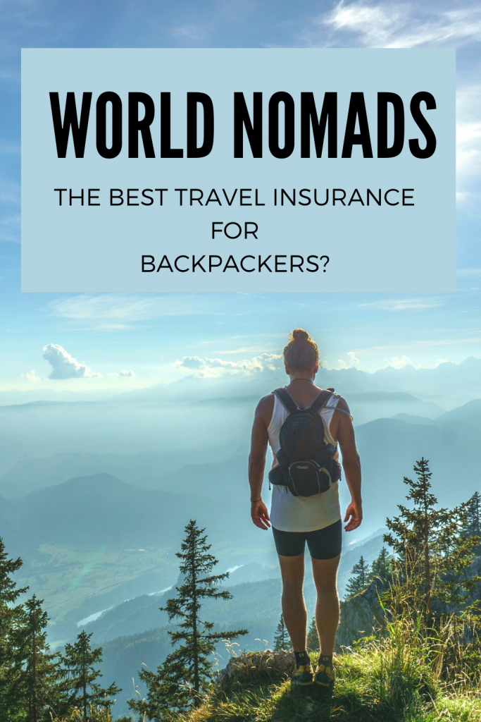 World Nomads Review - travel insurance is something that every backpacker should be looking into before they even think of booking a trip. The core concept of World Nomads is that you should be able to buy an insurance policy and have the freedom to extend it as much as you need to which is part of what makes it so great for long term travellers, as well as the huge range of activities that you are covered for on their plans #travelinsurance #backpackerinsurance