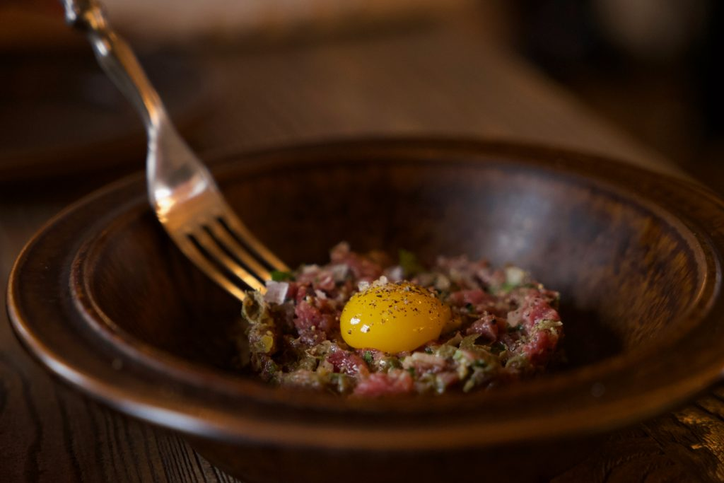 beef tartare, foods from poland
