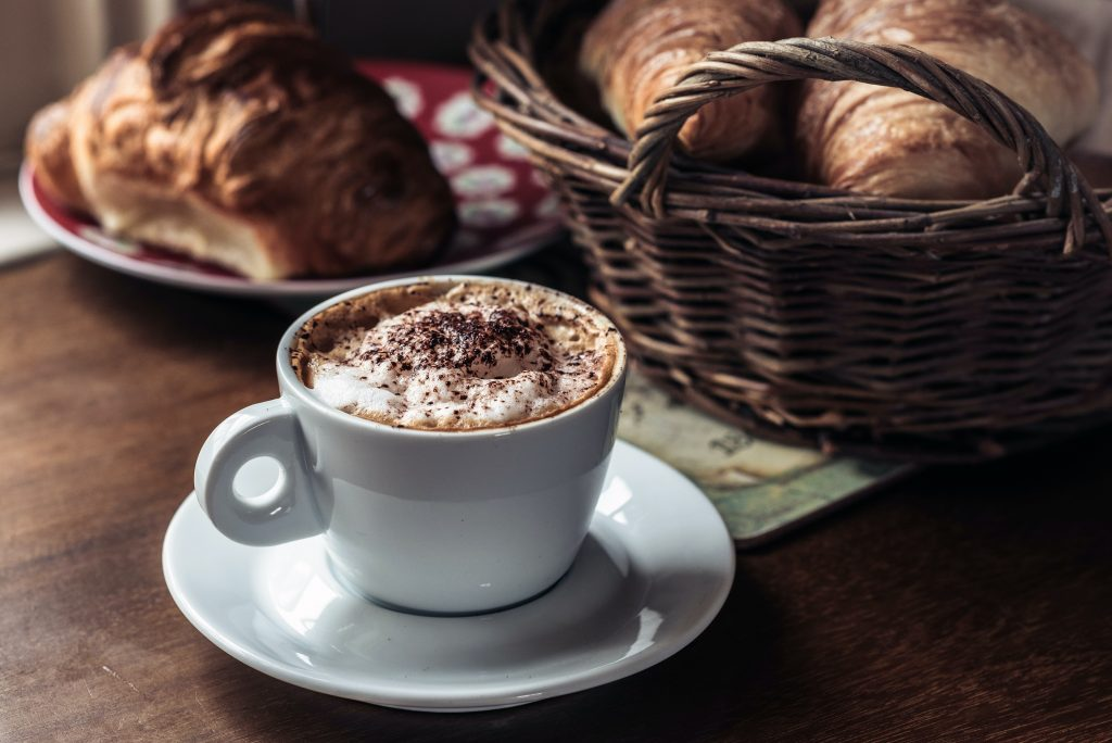 cappuccino in italy