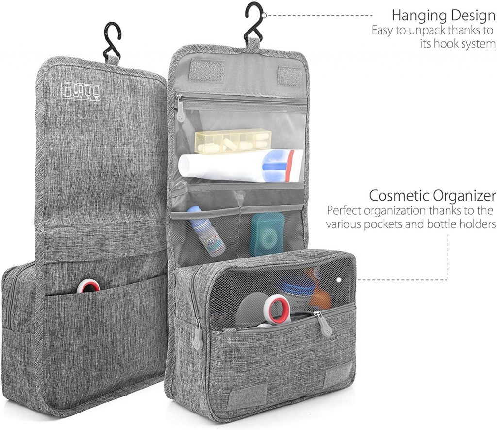 hanging toiletry bag, travel gifts for her